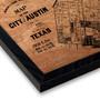 Art By Barton Austin Historical Map Print