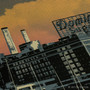 Domino Sugars Sunset Artwork Detail