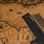 Wooden Map Artwork Detail