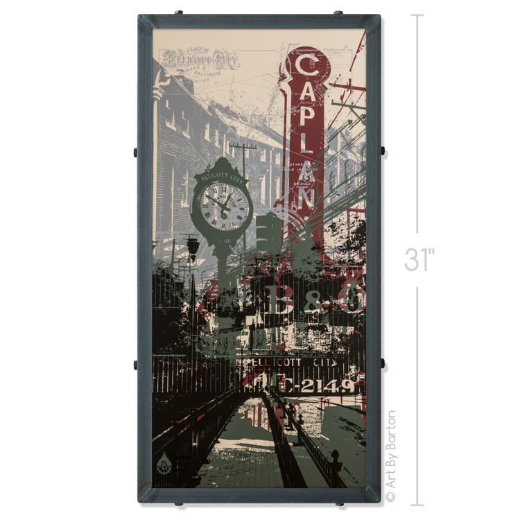 Ellicott City Mashup Silk Screen Print