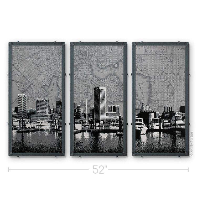 Art By Barton Baltimore Triptych