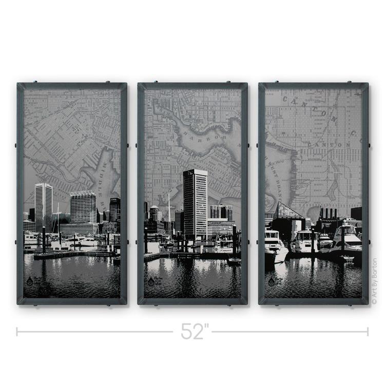 Art By Barton Baltimore Triptych