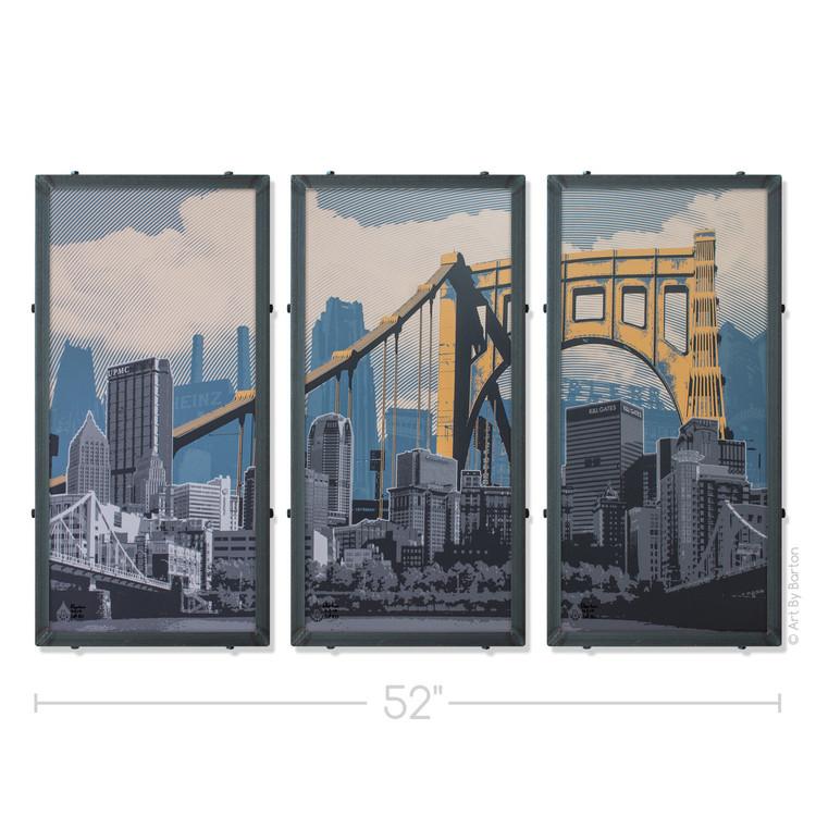 Pittsburgh Silk Screen Print