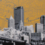 Pittsburgh Diptych Artwork Detail
