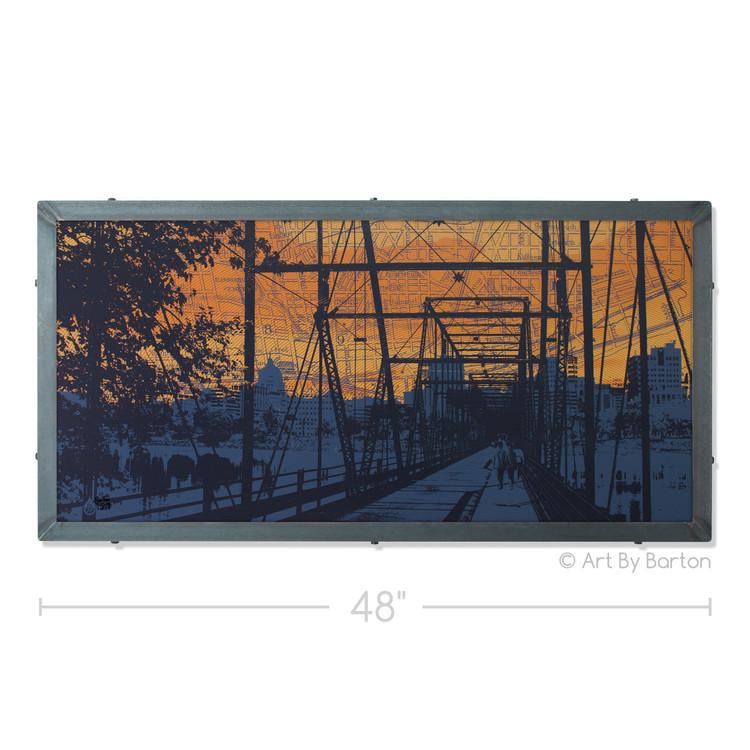 Walnut Street Bridge, Harrisburg, PA