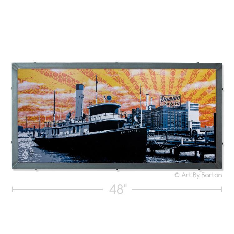 Baltimore Tugboat Wall Art