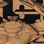 Crab Artwork Detail