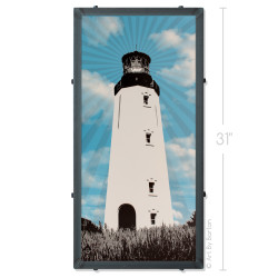 Rehoboth Beach Lighthouse Artwork