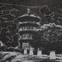 Patterson Park Pagoda Nighttime