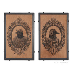 O's and Ravens Pair