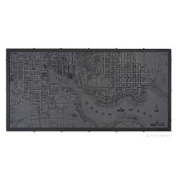 Large 1850s Baltimore Map