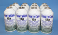 "FrostyCool 12a Refrigerant ""18 oz Equivalent"" - 1 case (12x cans) Replacement for R134a"