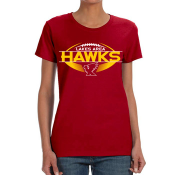 LA HAWKS LADIES REGULAR T-SHIRT