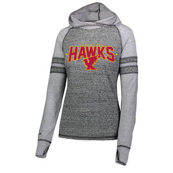 LA HAWKS LADIES LIGHT WEIGHT HOODIE