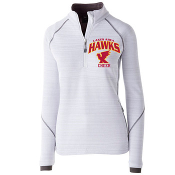 LA CHEER WOMEN'S DUAL KNIT PULLOVER