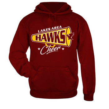 LA CHEER PERFORMANCE HOODIE