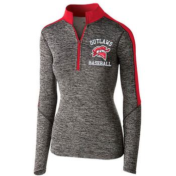 OUTLAWS 1/2 ZIP WOMENS PULLOVER