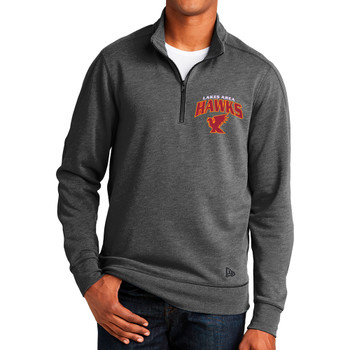 LA HAWKS 1/4 ZIP KNIT FLEECE
