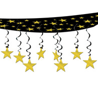 """Hollywood """"The Stars are Out"""" Ceiling Decoration 