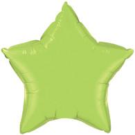 Foil Star Lime Green Balloon | Kalidoscope