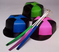 Jockey Cap & Whip Cardboard Multi - Coloured