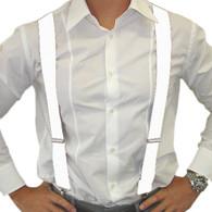 Dr Tom's Suspenders White