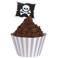 Pirate Parrty! Cupcake Wrap with Topper | Creative Converting