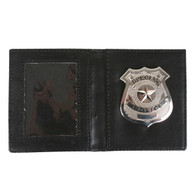Police Badge in a Wallet | Dr Tom's