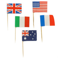 Assorted International Flag Picks | Alpen