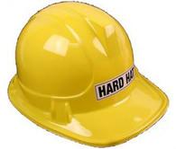 Construction Yellow Child's Hard Hat