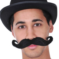 Dr Tom's Circus Master Moustache Black