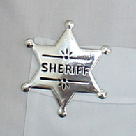 Sheriff Metal Star Badge | Smiffy's