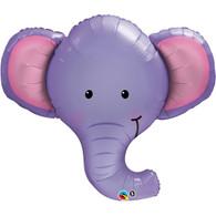 Foil Supershape Elephant Head Balloon | Qualatex