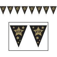 Hollywood VIP Pennant Banner | Beistle Creation