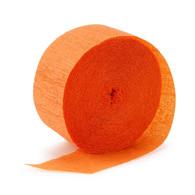 Streamers Sunburst Orange Crepe | Alpen