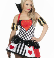 Sexy Queen of Hearts Costume | Interalia