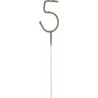Artwrap Number '5' Sparkler