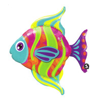 Foil Supershape Bright Angel Fish Balloon | Qualatex