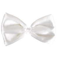Bowtie Satin White  | Party Planet