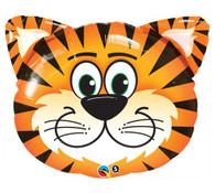 Foil Supershape Tickled Tiger Balloon | Qualatex