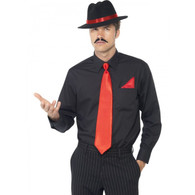 Instant Gangster Dress Up Red Kit | Smiffy's