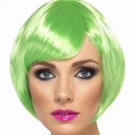 1980's Babe Neon Green Wig | Smiffy's