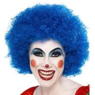 Crazy Clown Blue Wig | Smiffy's