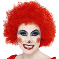 Crazy Clown Red Wig | Smiffy's