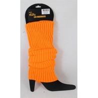 1980's Neon Orange Legwarmers | Trademart