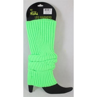 1980's Neon Lime Green Legwarmers | Trademart