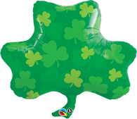 Foil Supershape St Patrick's Shamrock/Clover Balloon | Qualatex