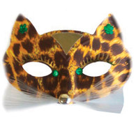 Papillon Alley Cat Brown Eye Mask