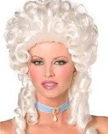 Smiffy's White Baroque Wig