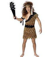 Crazy Caveman Costume | Smiffy's